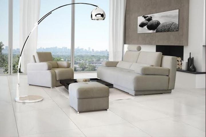 ESSENCE - Sofa wypoczynkowa z obszerną funkcją spania