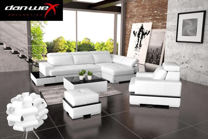 Meble tapicerowane DAN-WEX - Komfortowe i solidne narożniki, sofy, fotele i pufy w nowoczesnym stylu.