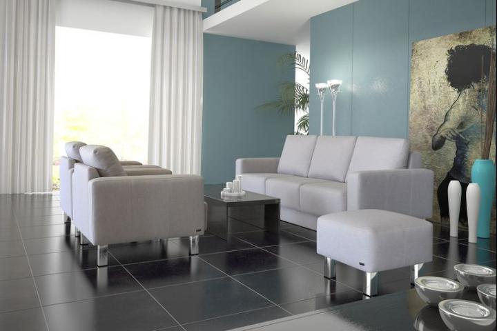 MOBIUS - Sofa z codzienną funkcją spania i pojemnikiem